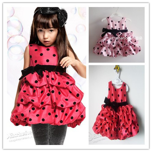 HOT Fashion Summer cute baby girl bow pink red lantern ...
