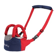 цена Baby Safe Walking Learning Belt Kid Keeper Harnesses Leashes Adjustable Safety Strap Walker Assistant Toddler Child Cotton Stick