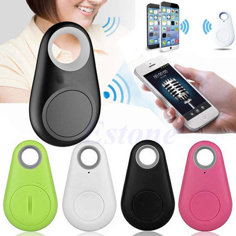 GPS Locator Wallet Tracker-Bag Bluetooth Child Alarm Key-Finder Smart-Tag Pet JUN-27A