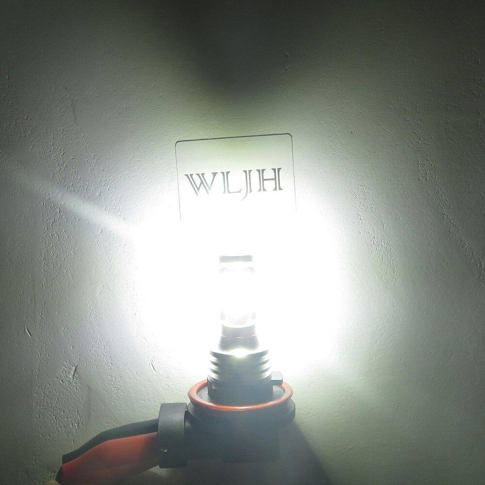 WLJH 2x Canbus 12 V 24 V H8 Led-lampe Nebel Lampe Birne H8 Licht Für BMW E39 E46 E60 e70 E72 E90 E92 E93 E81 E82 E84 F10 F15 F20 F25