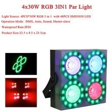 4Pcs Lamp Beads 30W Blinder SMD5050 RGB Stage Ligh LED Club Dj Disco Party Lighting KTV Lamps Wedding Shows Equipment