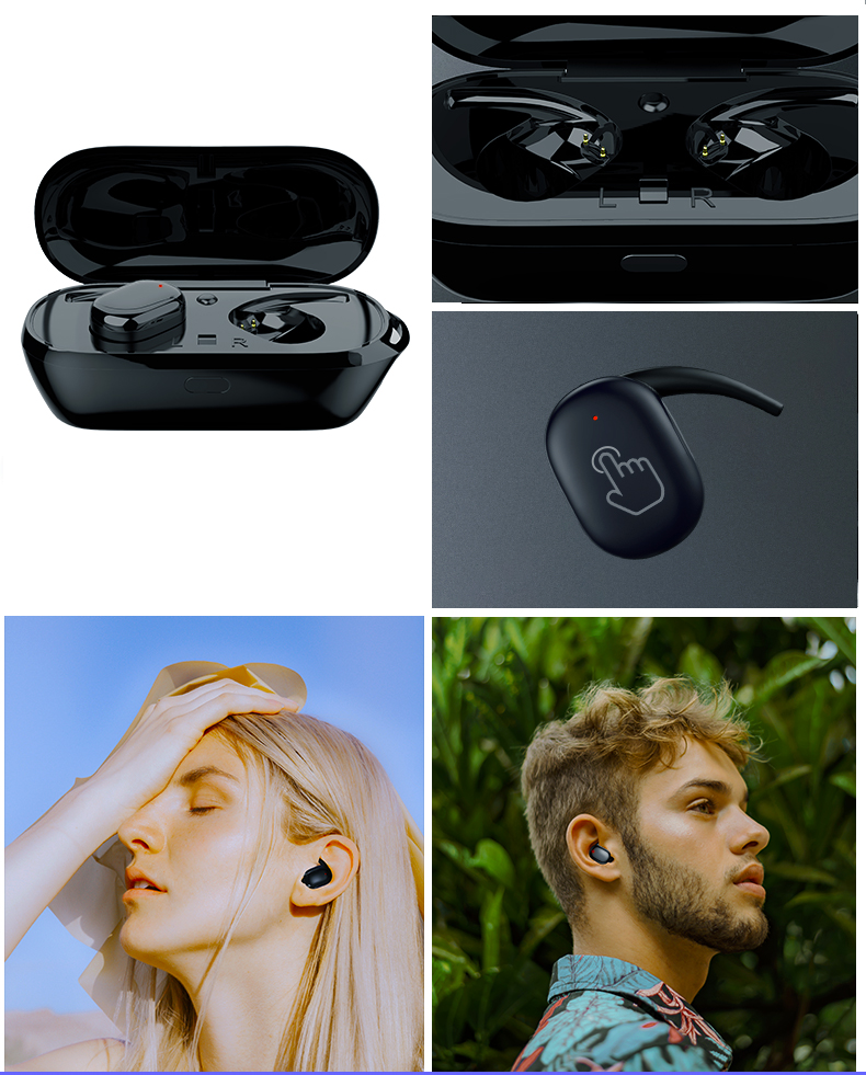 shop with crypto buy TWS Mini Bluetooth in-ear Earphones pay with bitcoin