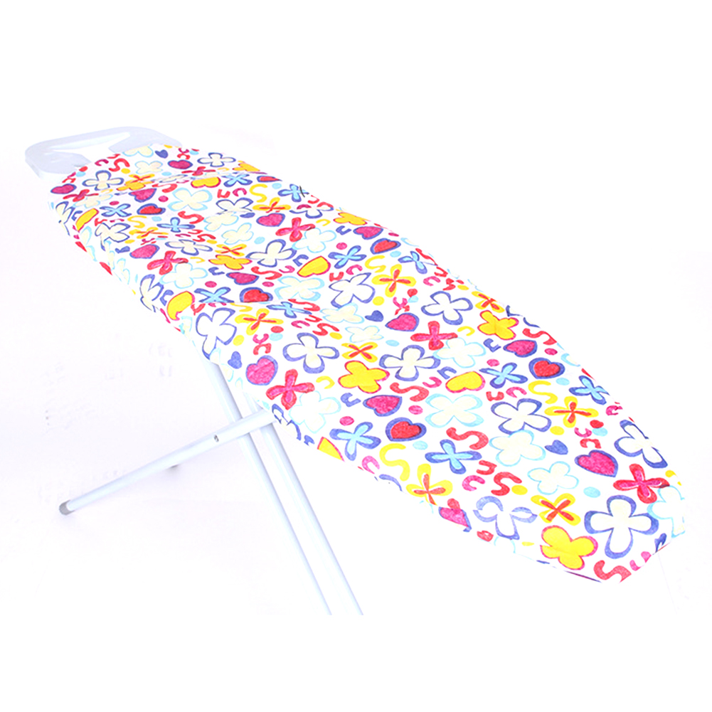 Heat Resistant Exquisite Elastic Edge Home Protective Ironing Board Cover Reusable Thick Replacement Floral Print Washable image