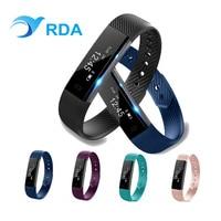 RDA Fitness Tracker Wristband Heart Rate Monitor Smart Band Smartband PK xiomi mi Band 2
