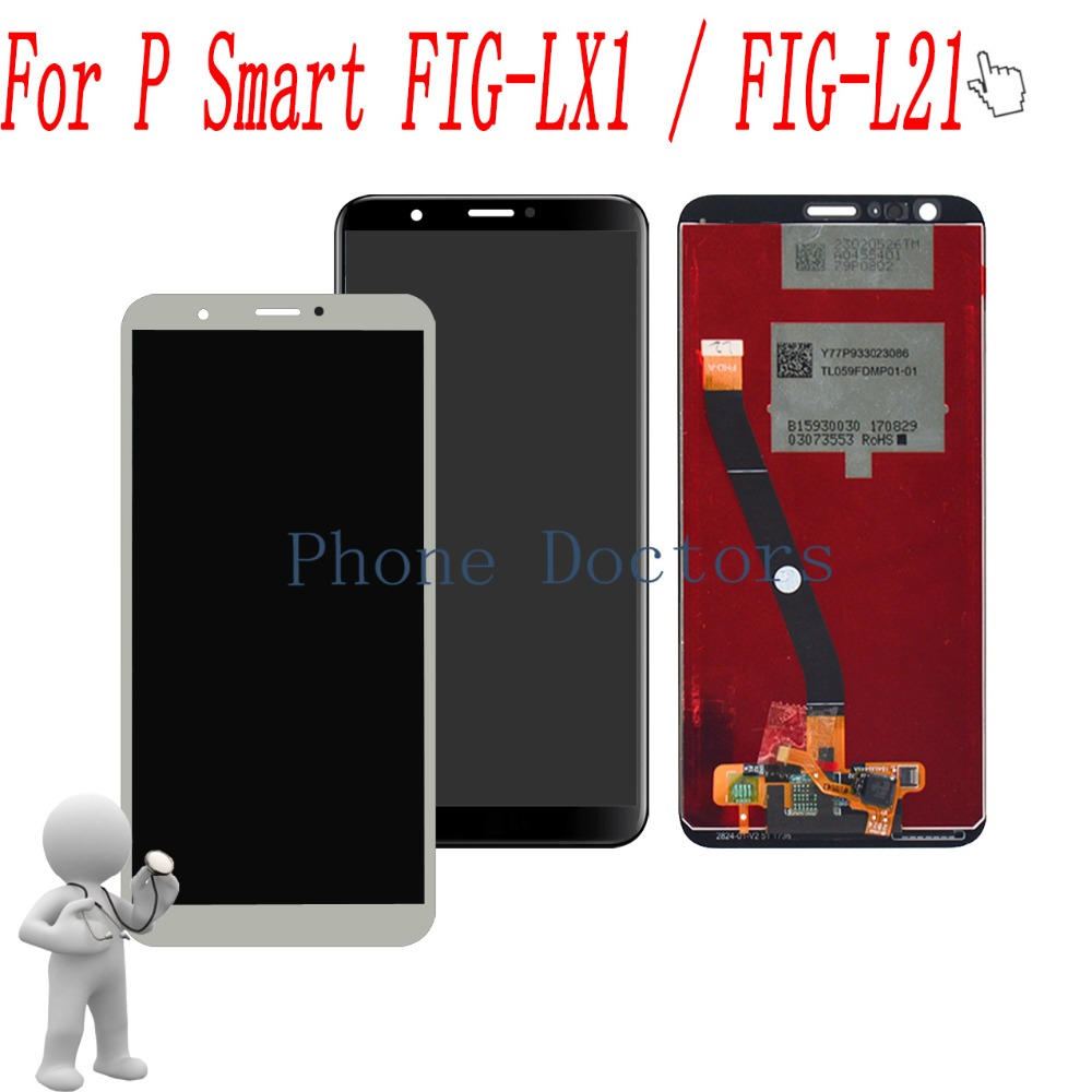 New Full LCD DIsplay+Touch Screen Digitizer Assembly For Huawei P Smart FIG-LX1 / FIG-L21 L22