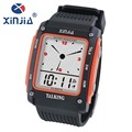 XINJIA  Double Movement  Time Watch  Voice Overseas Business Double   Time Table GMT Locations According  Month  829T