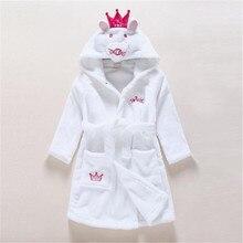Berymond/Детские Банные халаты; детский халат; фланелевые пижамы с капюшоном; Мультяшные халаты; мягкие банные халаты для детей; пончо; полотенца; одежда
