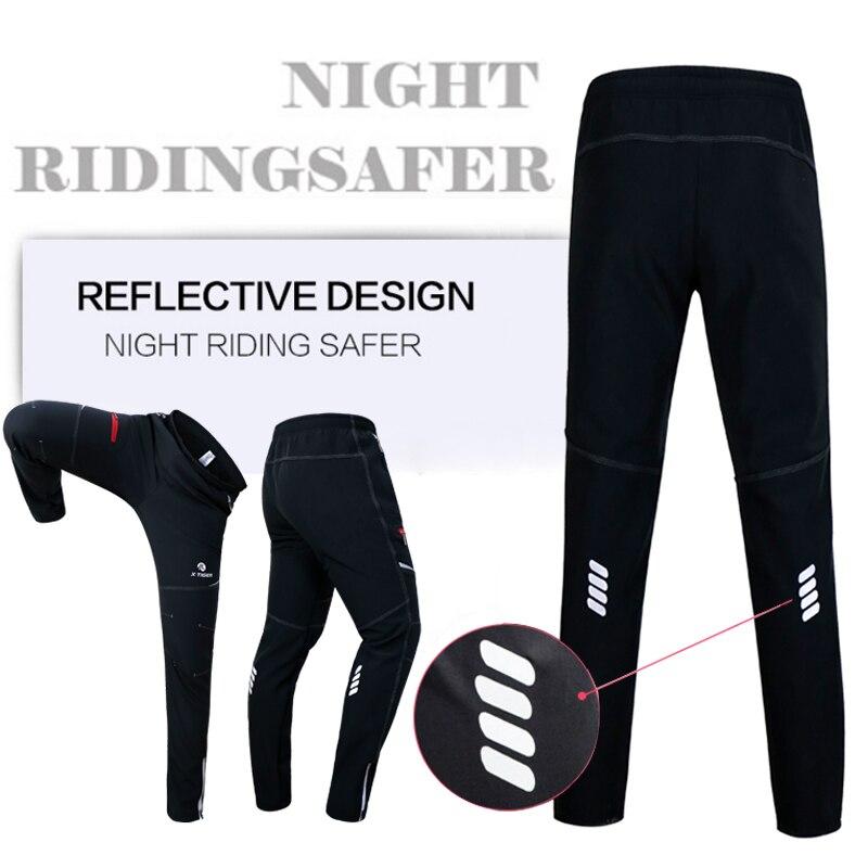 X TIGER hiver polaire thermique cyclisme veste manteau réfléchissant vélo vêtements ensemble vêtements de sport coupe vent vtt vélo maillots vêtements - 6