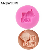 Cake-Decorating-Tools Soap-Mold Fondant-Mould Letters Baby And M0178 Lovely