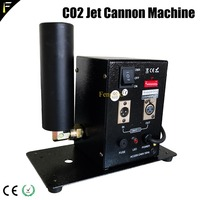 DMX512 2CH Stage Ice Jet CO2 Shooter Machine Dry Ice Fog Effect CO2 SmokeSpecial Effects Device Cannon Free Shipping Cost
