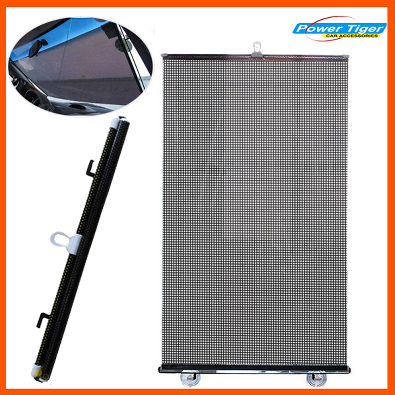 50 125cm solar film auto car sun shade front and rear side for Window screens for sale
