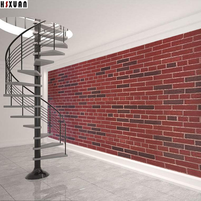 Brick Wall Picture Paper Decal Self Adhesive Removable Kitchen Waterproof Sticker Home Decor Tiles Stickers 2635