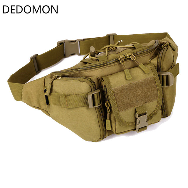 5489600f029f US $8.53 5% OFF New Hip Packs Outdoor Pack Waterproof Bag Tactical waist  bag Molle System Pouch Belt Bag Sports Bags Military Equipment-in Climbing  ...