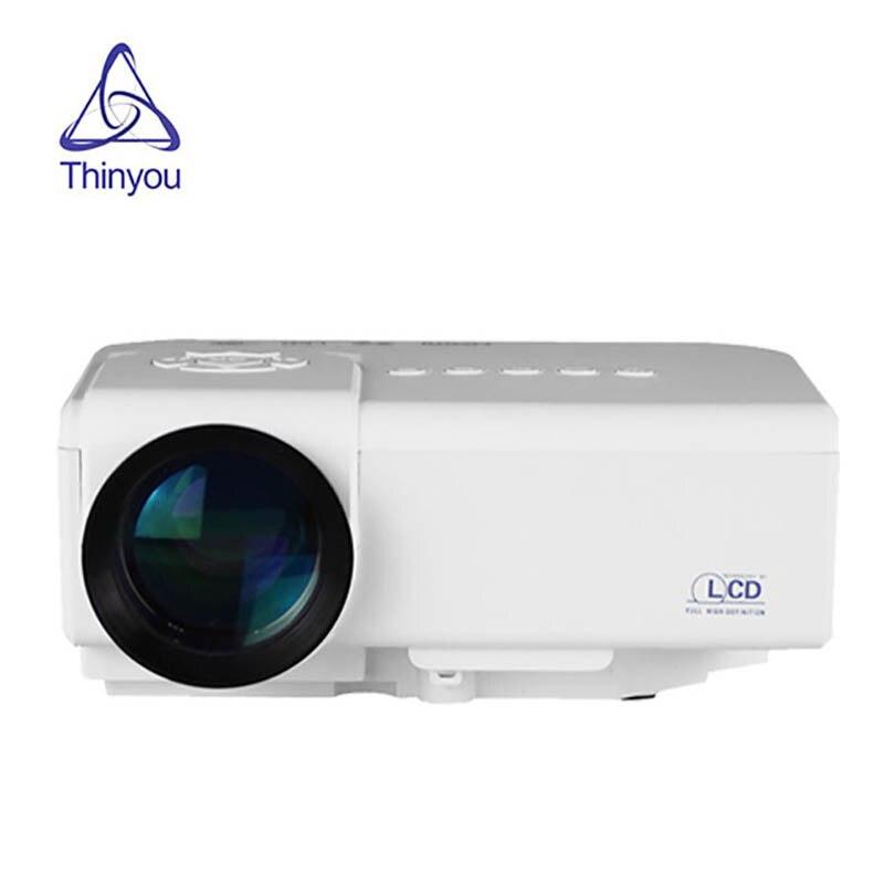 Projecteur Full HD M3 LED MINI projecteur Portable pour Home cinéma lecteur multimédia vidéo cinéma film multimédia projecteur