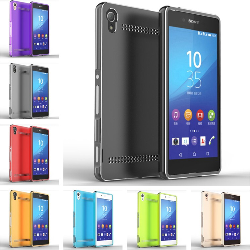 Metal Aluminum Case for Sony Z 5 Metal frame With Back Cover Case for Sony Xperia