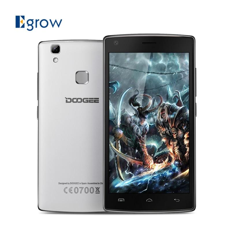 bilder für Original doogee x5 max handys mtk6580 quad core 5,0 zoll Smartphone Android 6.0 1G RAM 8G ROM Fingerprint ID Handy
