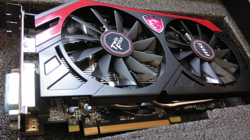 US $218 89 |MSI R9 270 2G high end graphics cards, professional grade  graphics card HD graphics, spike fake cards, GTX750 760 770 780-in Graphics