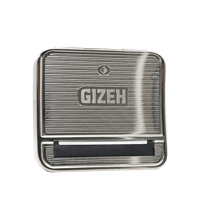 70MM Silver Metal Rolling Machine Case Box Rolling Machine for 70MM Papers Cigarette Maker Roller Handroller