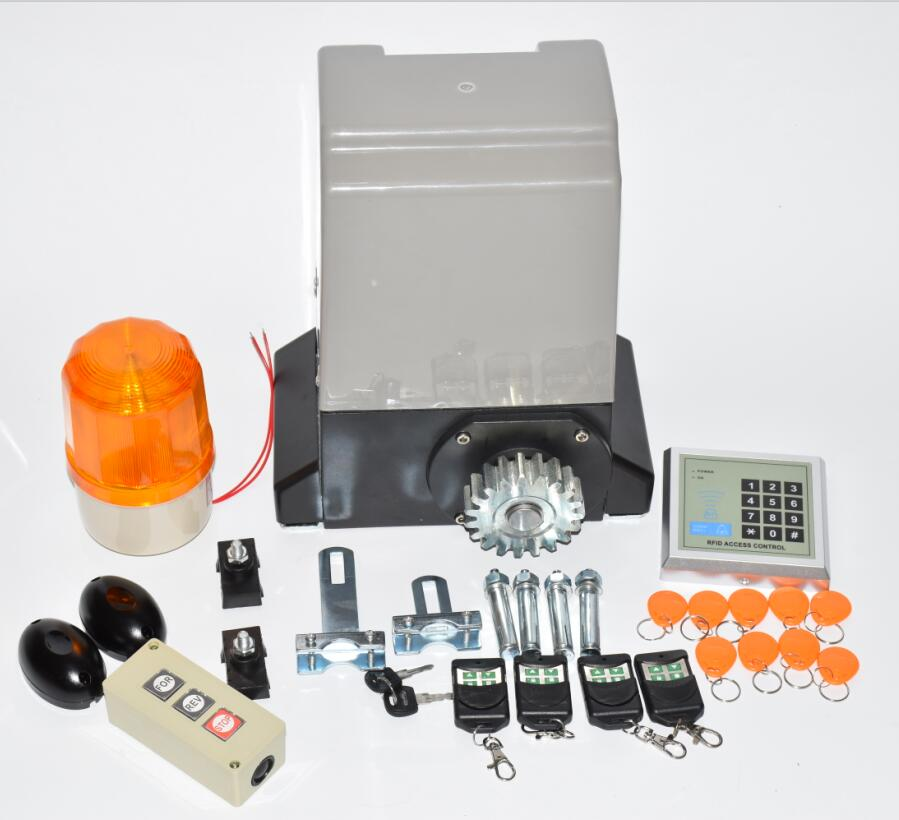 Image 3 - 1200kg KIT SET GATE GATES SLIDING SLIDE AUTOMATIC OPENER MOTOR 6m or 7m rails-in Access Control Kits from Security & Protection