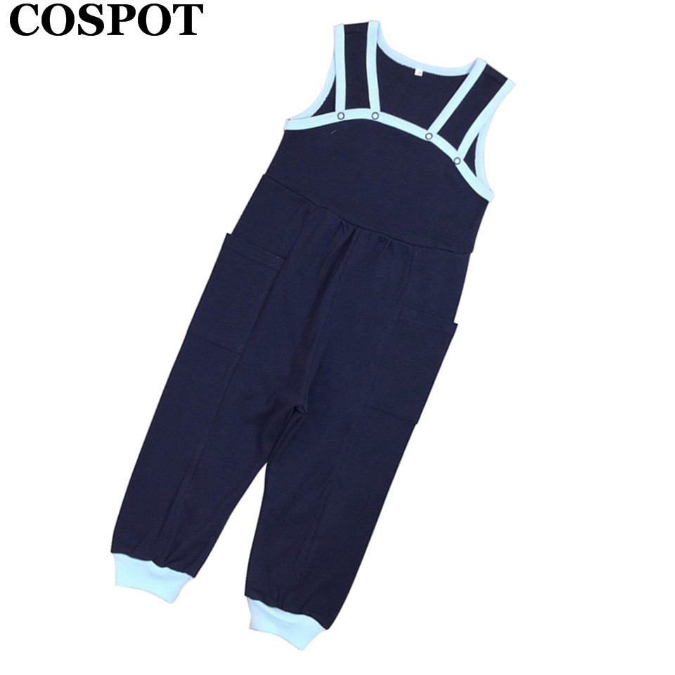 COSPOT Baby Girls Boys Plain Rompers Newborn Jumpsuits Infant Autumn Spring Overalls Baby Fashion Jumper 2018 New Arrival 30