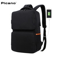 PICANO New Backpacks For Teenage Girls 15 Inch Loptop Backpack High School Students USB Exercise Charging