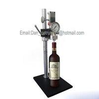 9001 A игристое вино CO2 манометр для деревянный из пробки бутылки