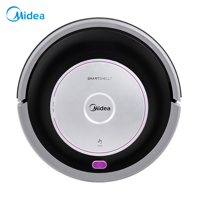 Midea MR02 Robot Vacuum Cleaner by remote control, multi-mode and mopping function, anti-collision, anti-fall, self-recharging цена и фото