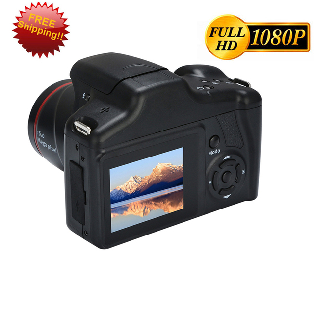 Digital Camera Video Camcorder HD 1080P Zoom Premium Digital DV Video Photography Shooting 1600W Camcorder 4X Support SD Card