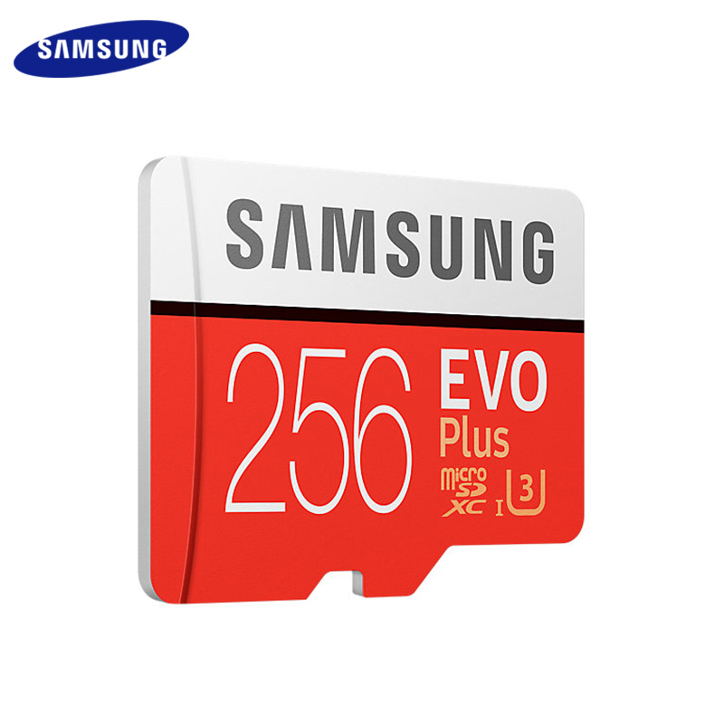 Original SAMSUNG EVO Plus Memory Card 32GB 64GB 128GB SDXC/SDHC Class 10 Flash Micro Sd 256GB TF Sdcard For Smartphone/camera