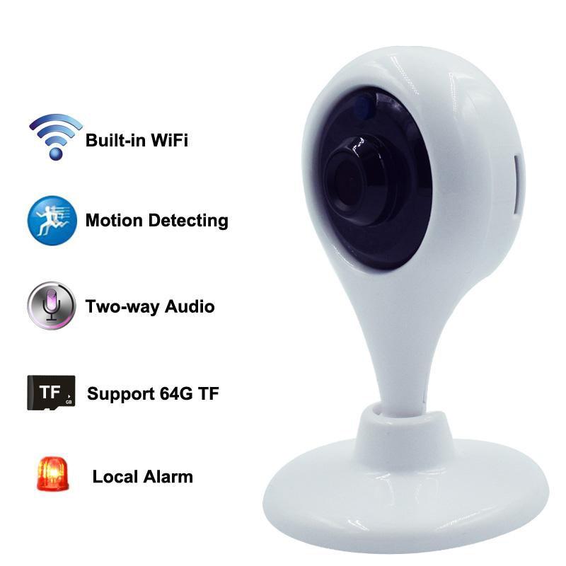 Wireless Babyfoon Camera Baby Monitor WiFi 720P HD Smart Home Security Camera Intercom Audio Infant Baby