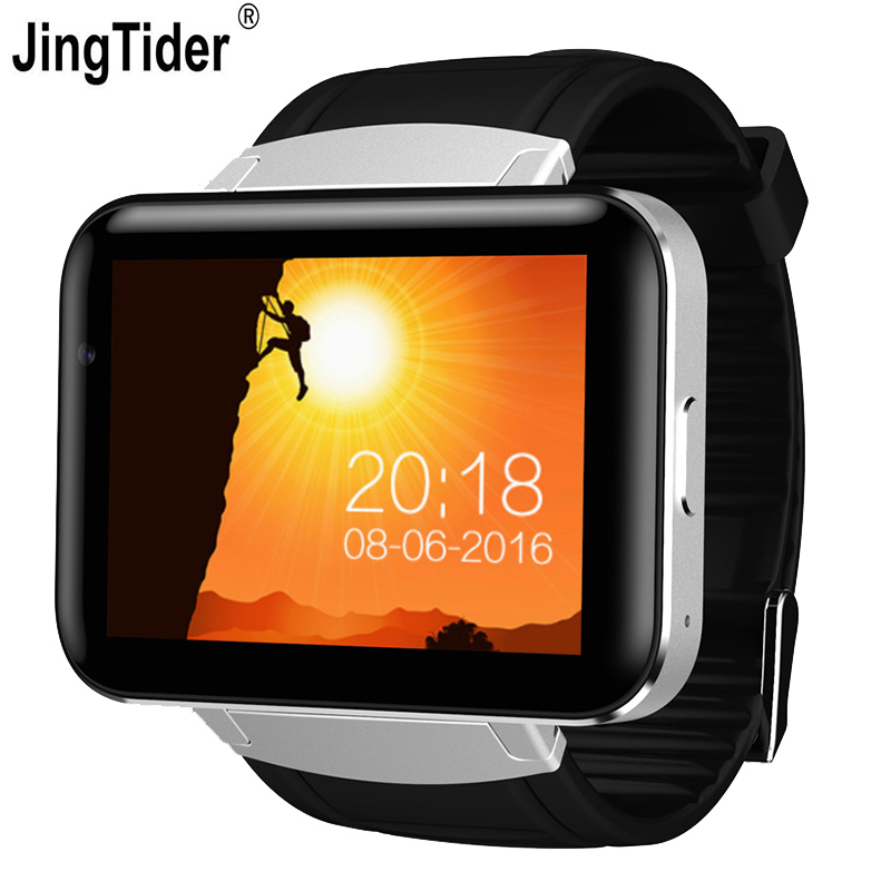2.2 inch DM98 Android Smart Watch 3G WCDMA Bluetooth Smartwatch phone 900mAh Battery Wearable Devices MTK6572 Dual Core GPS Wifi