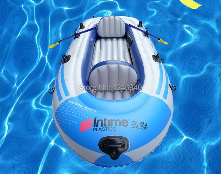Inflatable boats summer double thicken water sport boat 2 for Four man rubber life craft