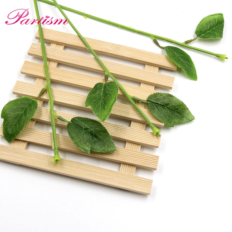 20PCS Flower Stem Artificial Branches Twigs Iron Wire With ...