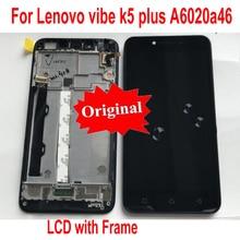 100% Оригинальный сенсорный экран панель дигитайзер ЖК-дисплей в сборе с рамкой для Lenovo vibe K5 Plus A6020A46 Замена телефона
