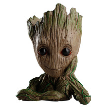 15CM Tree Man Baby Action Figure Model Pen Pot and Flower Pot Toy Anime Figure Guardians of The Galaxys 2 Drop Shipping