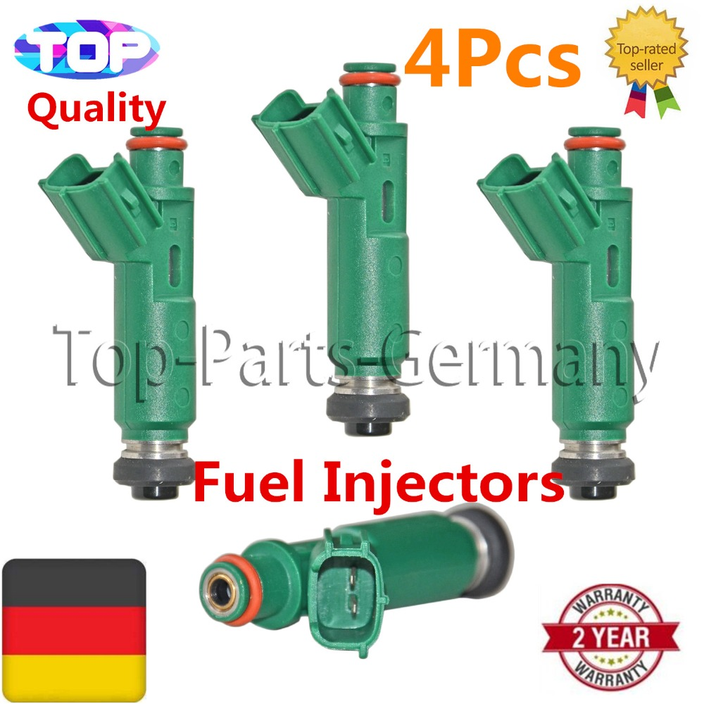 4 Fuel Injector For Toyota Celica Corolla Matrix MR 2 MR2,For Pontiac Vibe Chevy Chevrolet/Holden Prizm 1.8L L4 23250-22040