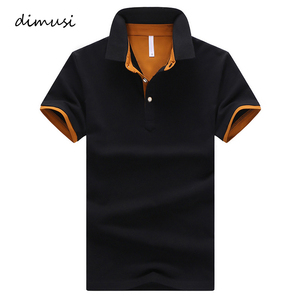 DIMUSI Mens Polo Shirts Summer Men Casual Short Sleeve Cotton Shirts Fashion Polo Tees Para Hombre Brand Clothing 4XL,YA764