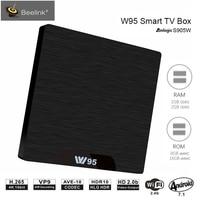 Beelink W95 TV Box Android 7.1 Amlogic S905W Quad Core 2G RAM 16G ROM Set Top Box 2.4G Wifi HDMI2.0 Set Top Box 4K Media Player