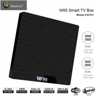 Beelink W95 TV Box Android 7.1 Amlogic S905W Quad Core 2G RAM 16G ROM Set Top Box 2.4G Wifi HDMI2.0 Set Top Box 4K Media Player