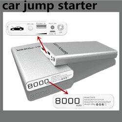 Wysokiej jakości samochód skok startowy wielofunkcyjny AUTO awaryjny powerbank PetrolVehicle opakowanie banku Laptop akumulator