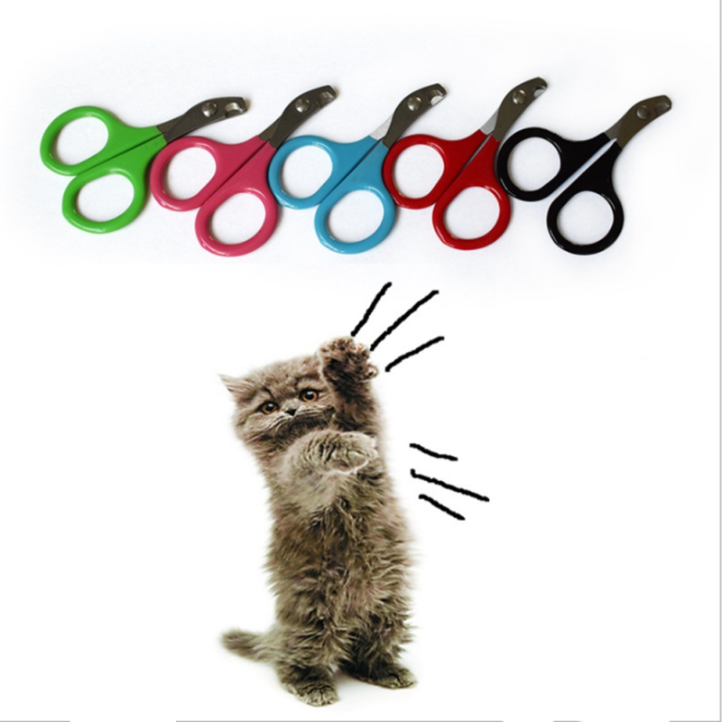 pet stainless steel nail clipper dog cat durable easy use cutter puppy kitten claw care supplies