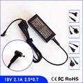 Для ASUS Eee PC Seashell 1025CE 1025C 1225B 1225C 1015PEG 19V 2.1A ноутбук адаптер переменного тока зарядное устройство Шнур питания