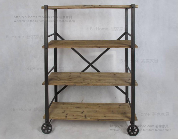 Ordinaire American Country To Do The Old Vintage Wrought Iron Shelf Storage Racks  Wood , Wrought Iron Shelves Shelving Storage Rack In Luggage Racks From  Furniture On ...
