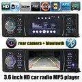 """3.6 """"7-дюймовый 1 ДИН bluetooth Автомобильный MP5 Player MP4 радио поддержка Сзади Камера вид HD Стерео Аудио FM USB TF AUX 7 backgroud подсветки"""