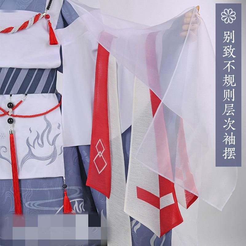 Горячее предложение! Платье маленького героя Todoroki Shoto, цветочное праздничное кимоно, вечерние платья на Хэллоуин, костюмы на Хэллоуин для же... - 4