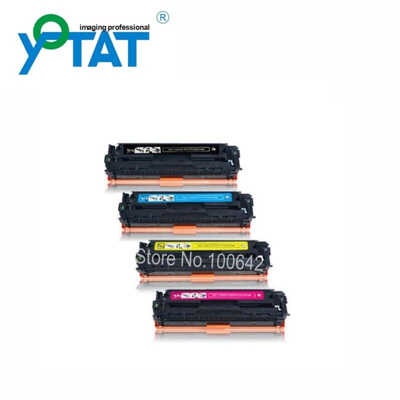 Toner cartridge CC530A CC531A CC532A CC533A for HP Color LaserJet CM2320 CP2025 цены онлайн