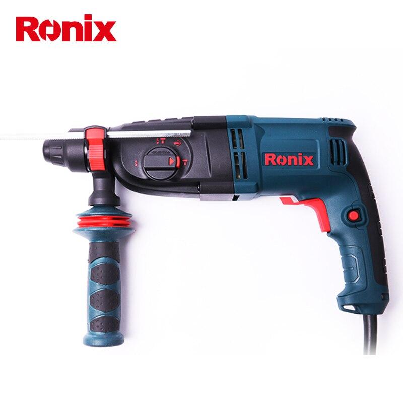 Ronix 26mm broca de martelo rotativo 3 função modelo 2727