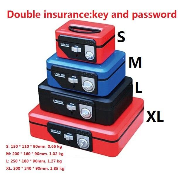 double lock cashier box key and password open money saving boxs bin rh aliexpress com fuse box keeps blowing fuses longest journey fuse box key