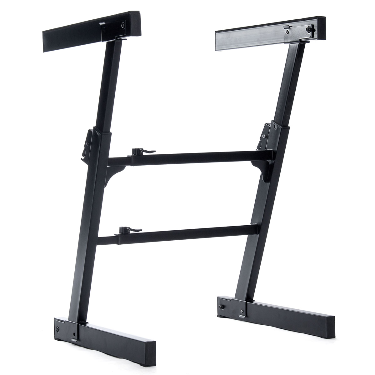 Adjustable Z Type DJ Mixer Arcade Game Console Heavy Duty Music Electronic Keyboard Stand Electric Digital Piano Organ Holder