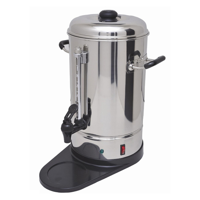 6liters stainless steel commercial coffee percolator coffee boiler coffee maker